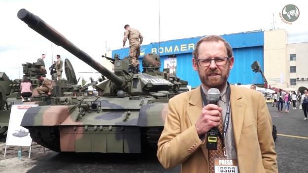 BSDA 2018 Romanian army military equipment and armoured vehicles MBT Bucharest