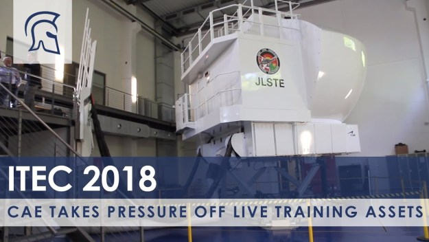 CAE Takes Pressure Off Live Training Assets
