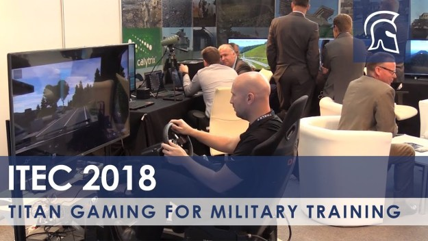 Titan Gaming For Military Training
