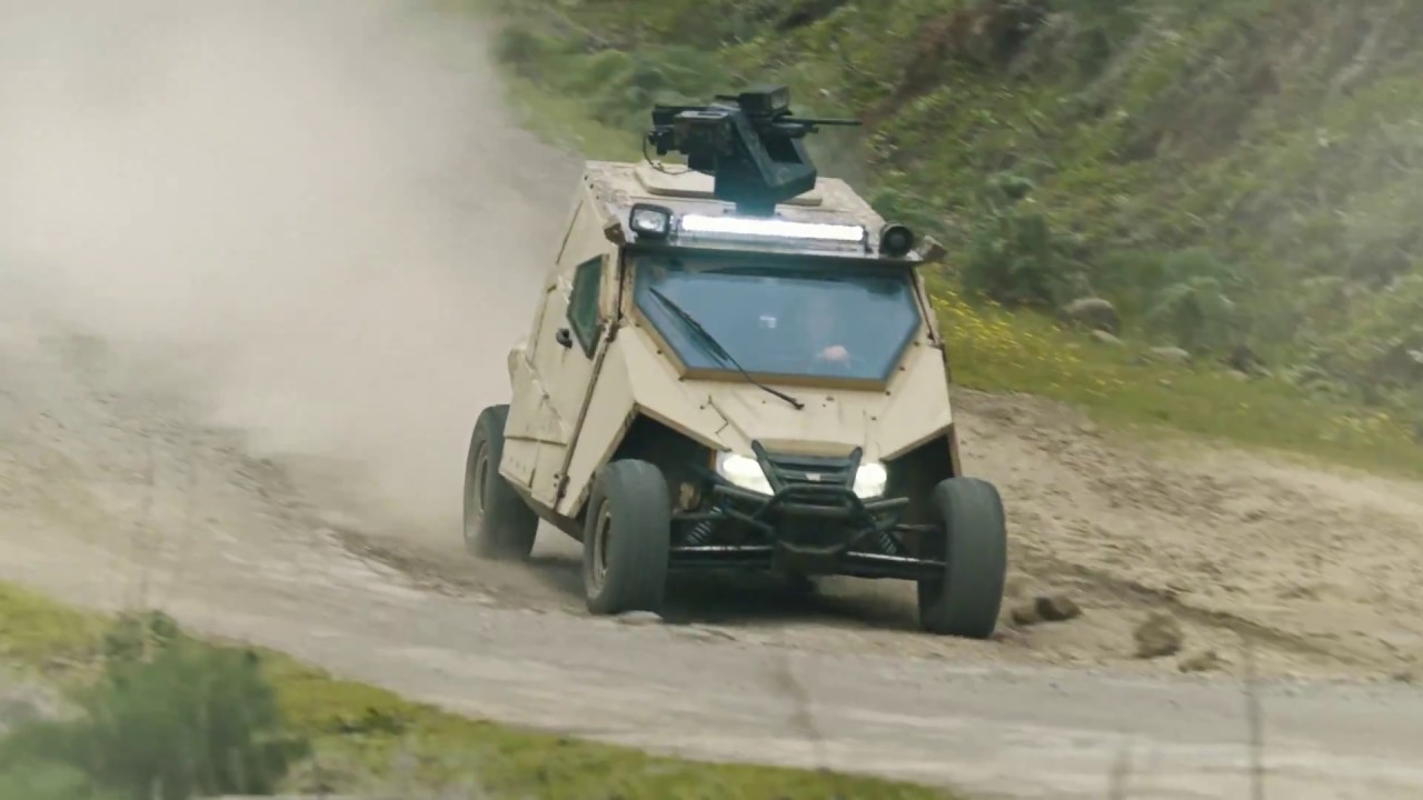 Yagu - An Ultralight Special Ops Armored Vehicle