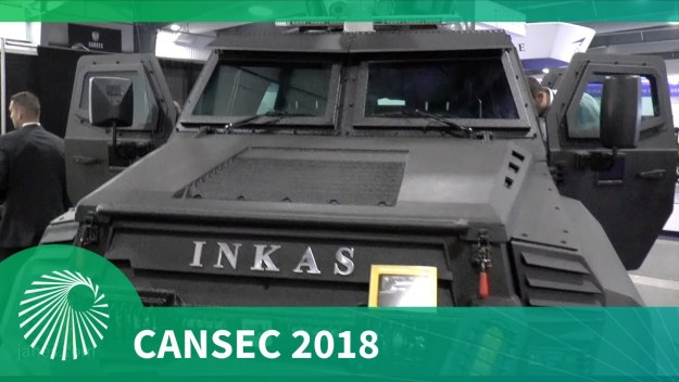 CANSEC 2018: INKAS debuts their SENTRY MPV vehicle