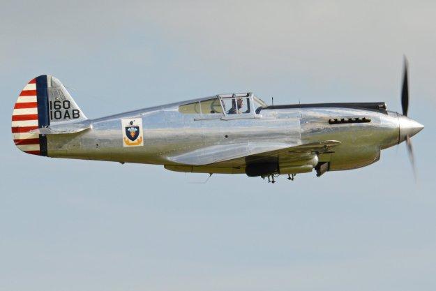 Curtiss P-40 Warhawk Fighter Aircraft Military Wallpaper