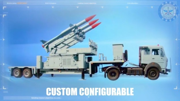 DRDO - India Akash Supersonic Air Defence Missile