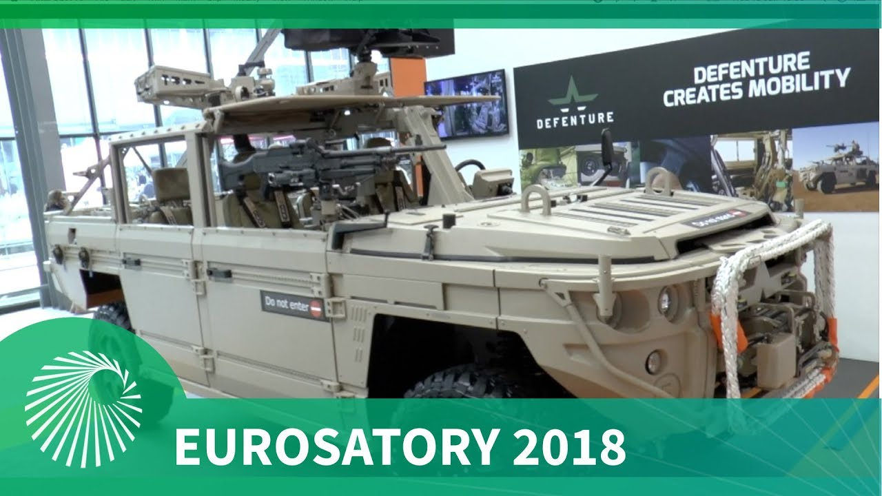 Eurosatory 2018: Defenture BV's Special Operations GRF 5.12 vehicle