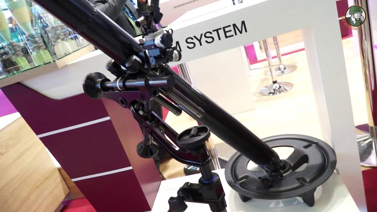 Eurosatory 2018 Hirtenberger Defence presents 120mm Super Rapid Advanced Mortar System
