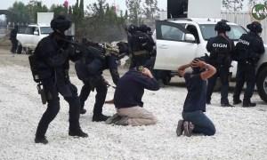 Eurosatory 2018 live demonstration of GIGN National French Gendarmerie Intervention Group