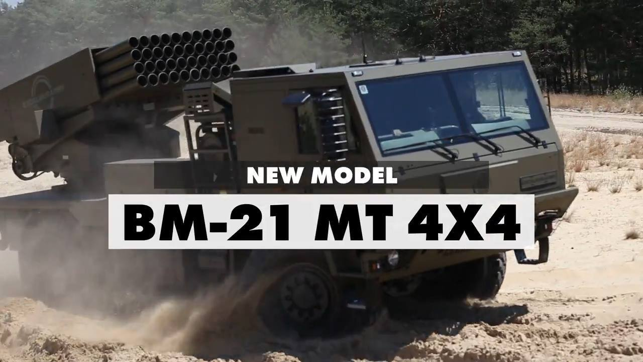 Excalibur Army BM-21 MT 4×4 MRLS