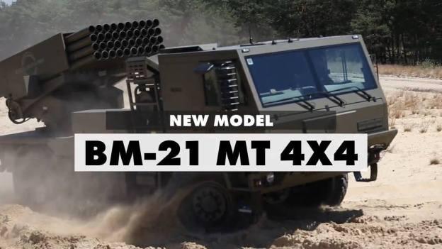 Excalibur Army BM-21 MT 4×4 MRLS