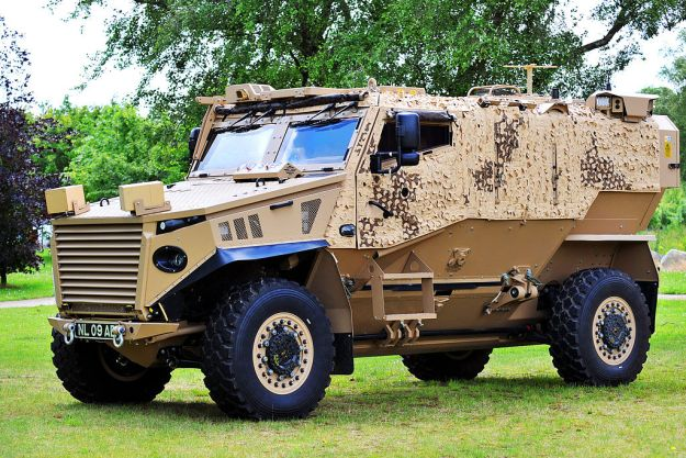 Foxhound armoured vehicle