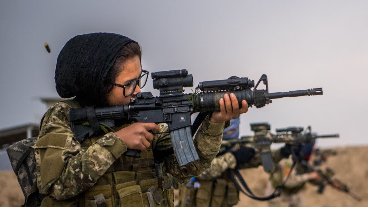 Meet The First Females In Afghanistans Army