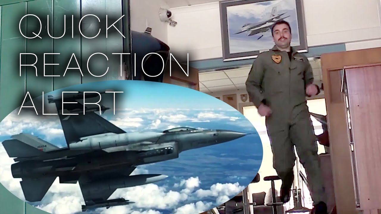 NATO Quick Reaction Alert – Portuguese Air Force Scramble Fighter Jets