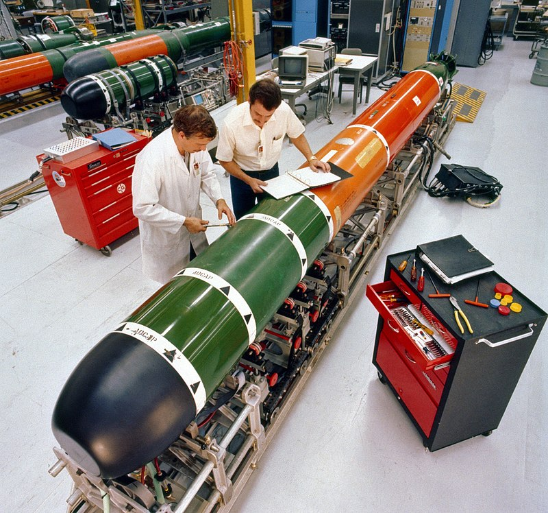 Northrop Grumman Systems Corp. contracted for Mk 48 torpedo support