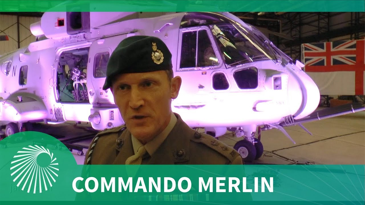 Royal Navy receives first Commando Merlin