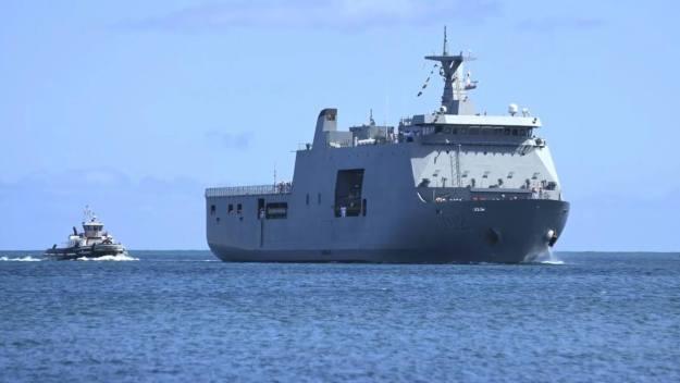 Ships arrive for RIMPAC 2018