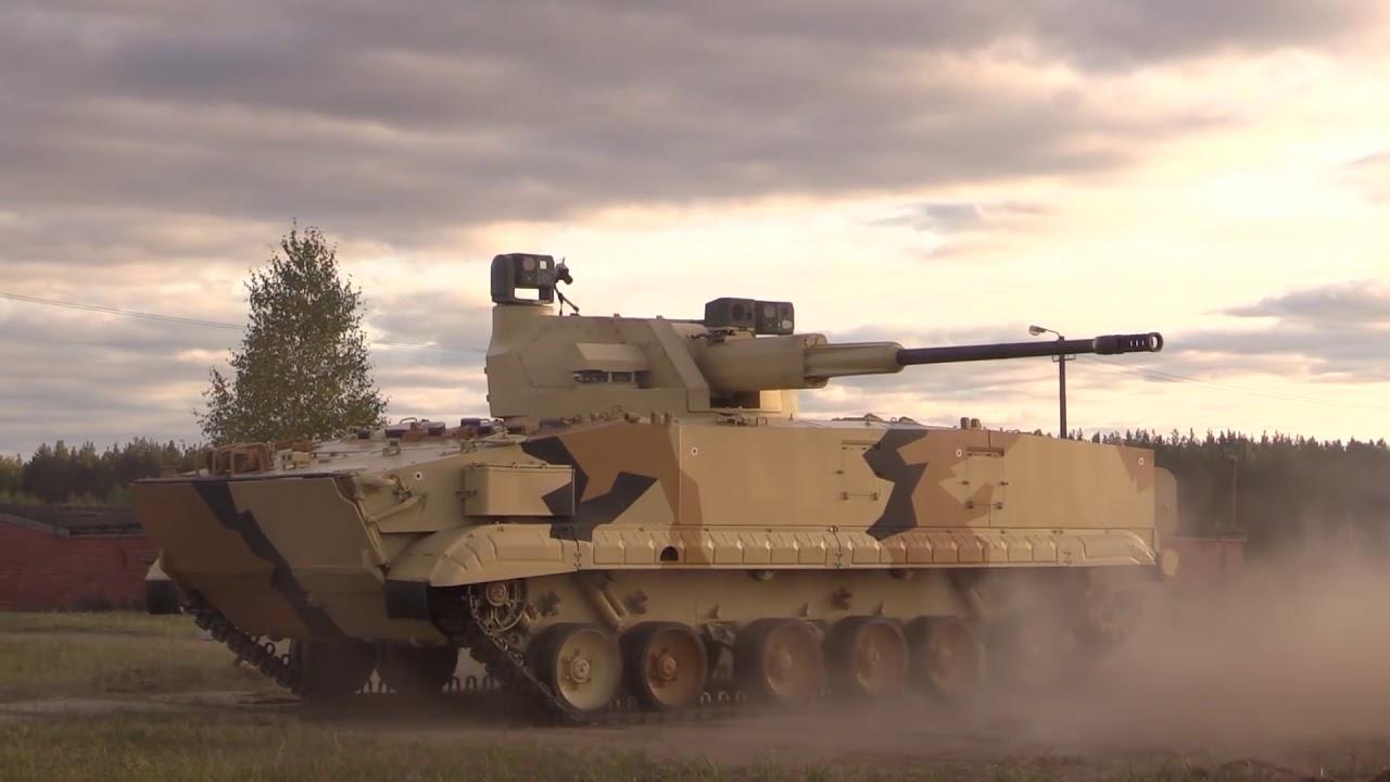 UralVagonZavod shows BMP 3 IFV with 57mm Gun