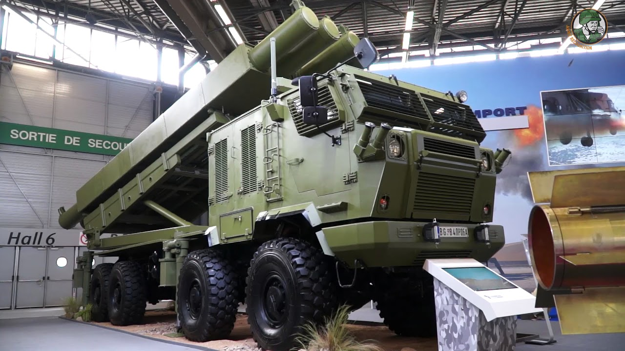 Yugoimport from Serbia presents its full range of artillery systems at Eurosatory 2018