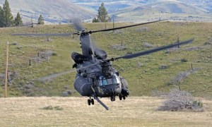 Boeing MH-47G Chinook Special Operations Helicopter