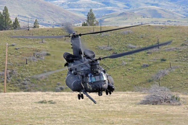Boeing to build 4 new MH-47G Chinook for 160th SOAR
