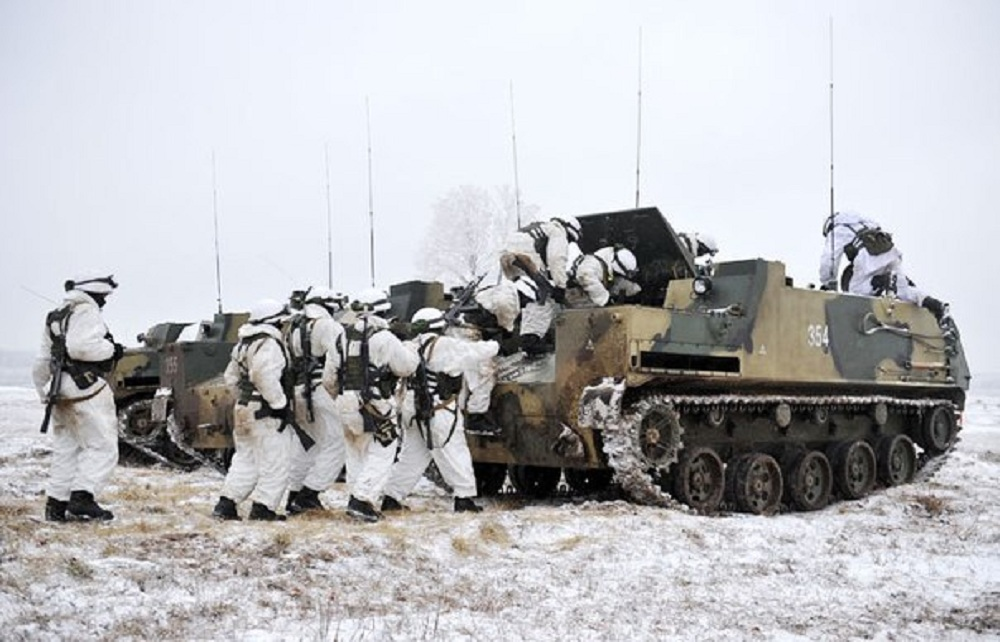 Russian Airborne Forces BTR-MDM armoured personnel carrier