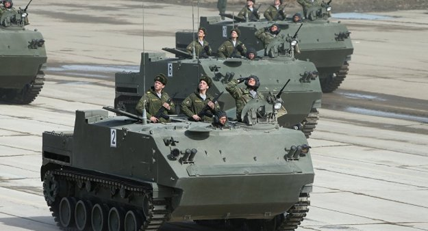 BTR-MDM Armoured Personnel Carrier