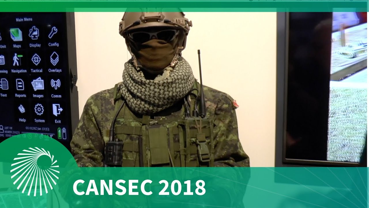 CANSEC 2018: ARGUS Soldier System for the Canadian Armed Forces
