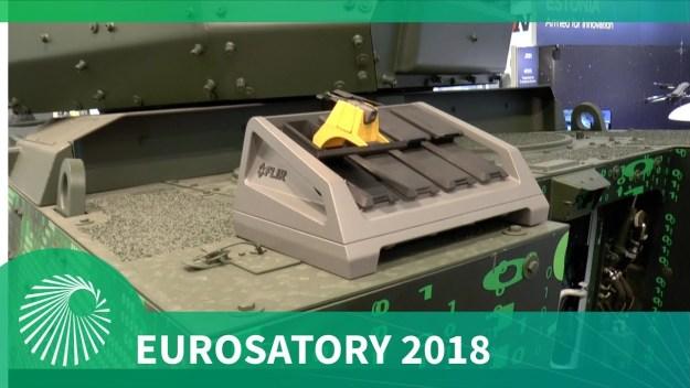 Eurosatory 2018: Kongsberg integrated combat system for UAVs