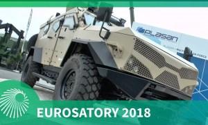 Eurosatory 2018: Plasan's 4 GEN Sandcat 4x4 armoured vehicle