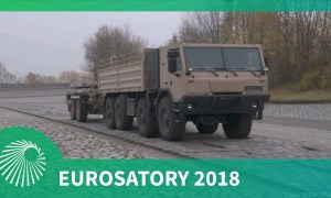 Eurosatory 2018: TATRA TRUCKS recent chassis-based developments including their new trailer