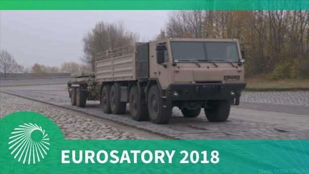 Eurosatory 2018: TATRA TRUCKS recent chassis-based developments including their new trailer