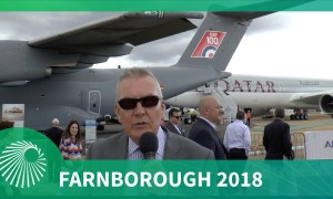 "Farnborough Air Show 2018: Flightline ""Grid Walk"""
