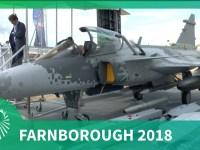 Farnborough Air Show 2018: Saab's Gripen E