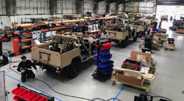 First production of Jankel FOX Rapid Reaction Vehicles to Belgian Special Regiment