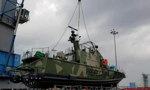 Israel Shipyards delivers Shaldag MK II fast patrol to Argentina