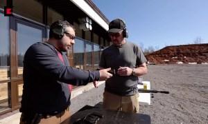 Larry Vickers shooting PL-15K pistol