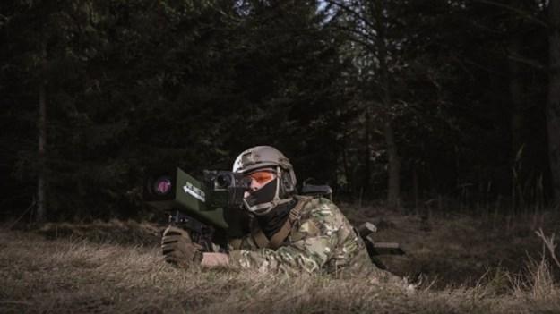 MBDA Enforcer shoulder-launched guided munition