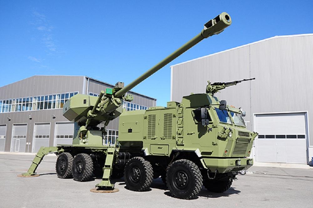 Aleksandar self-propelled gun system