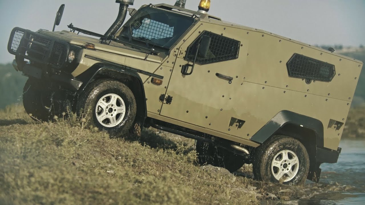 Plasan Hyrax All Terrain Light Armored Vehicle