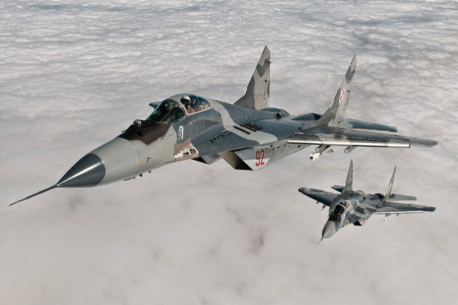 Polish Air Force MiG-29 jet crashes killing pilot