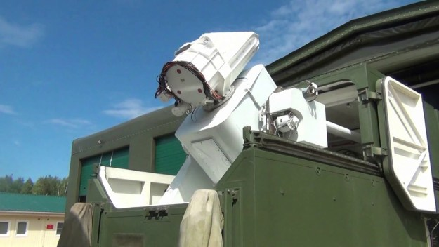 Russian Defense Ministry Peresvet combat laser system
