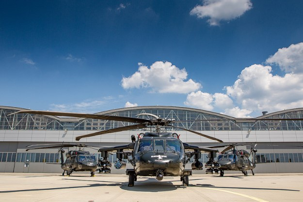 Sikorsky Black Hawk 40th Anniversary