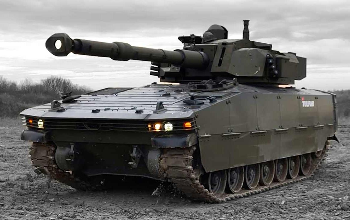 Tulpar light tank