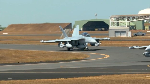 Exercise Pitch Black 18 'Red Air' from RAAF Base Tindal