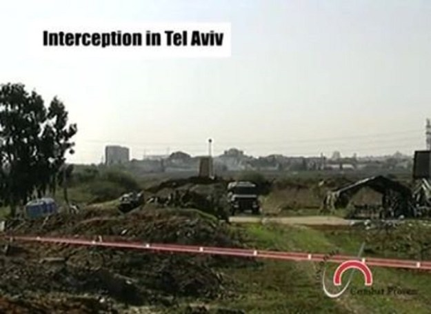 Iron Dome Interception