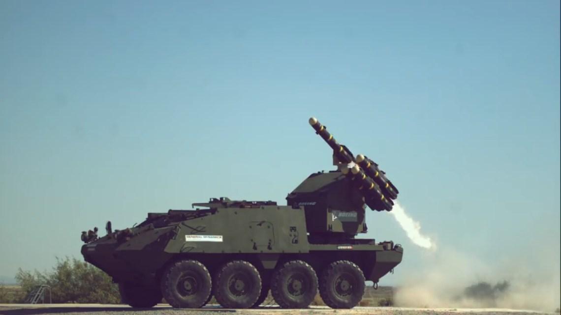 Stryker Manuever SHORAD Launcher (MSL)