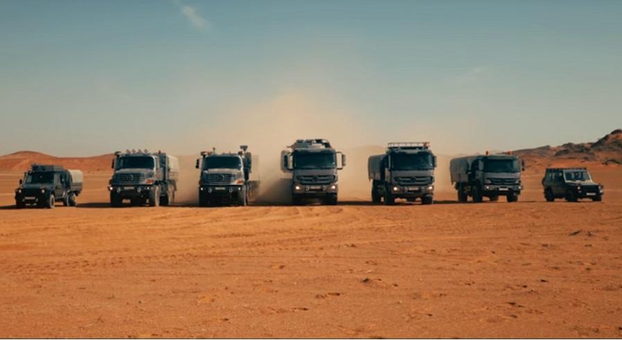 Mercedes-Benz Trucks: Masters of the Desert