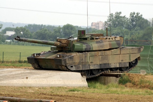 Nexter Group Leclerc Main Battle Tank