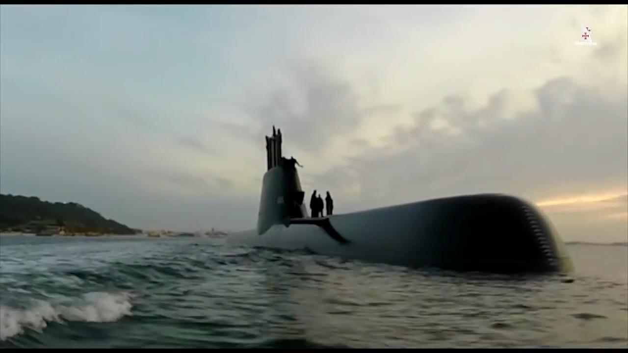 Portuguese Navy NRP Arpão Tridente-class submarine