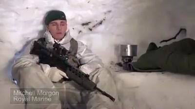 Royal Navy cold weather training 2016