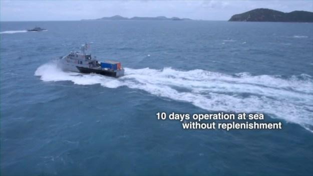 Royal Thai Navy M36-class patrol boats