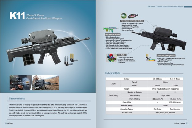 S & T Motiv K11 Dual Barrel Air Brust Weapon